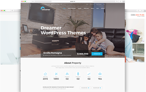 Example WordPress Theme